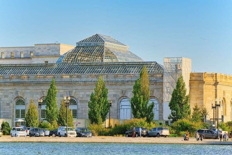 Jardín botánico de Washington, los E.E.U.U., Estados Unidos imagen de archivo