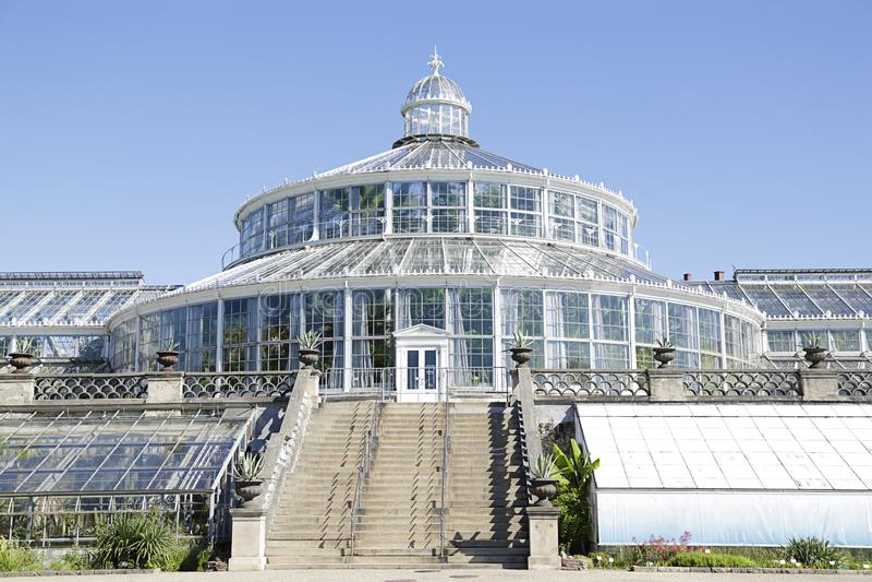 Jardín Botánico, Dinamarca foto de archivo