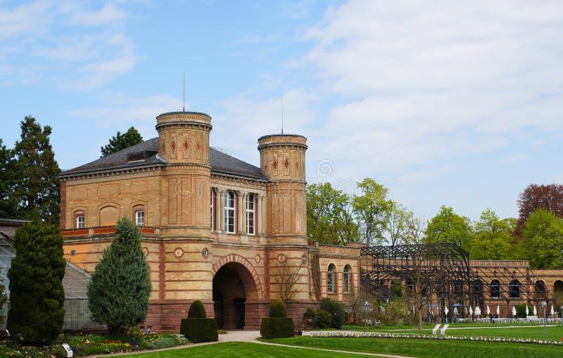 Jardín botánico en Karlsruhe foto de archivo