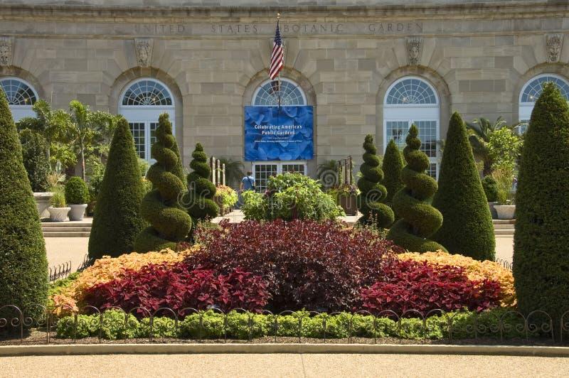 Jardín botánico nacional foto de archivo libre de regalías