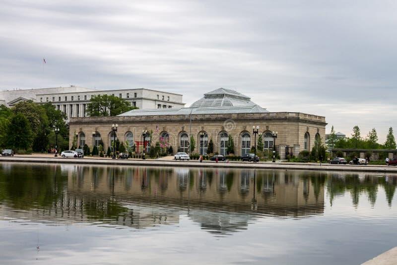 Jardín botánico Washington de Estados Unidos foto de archivo