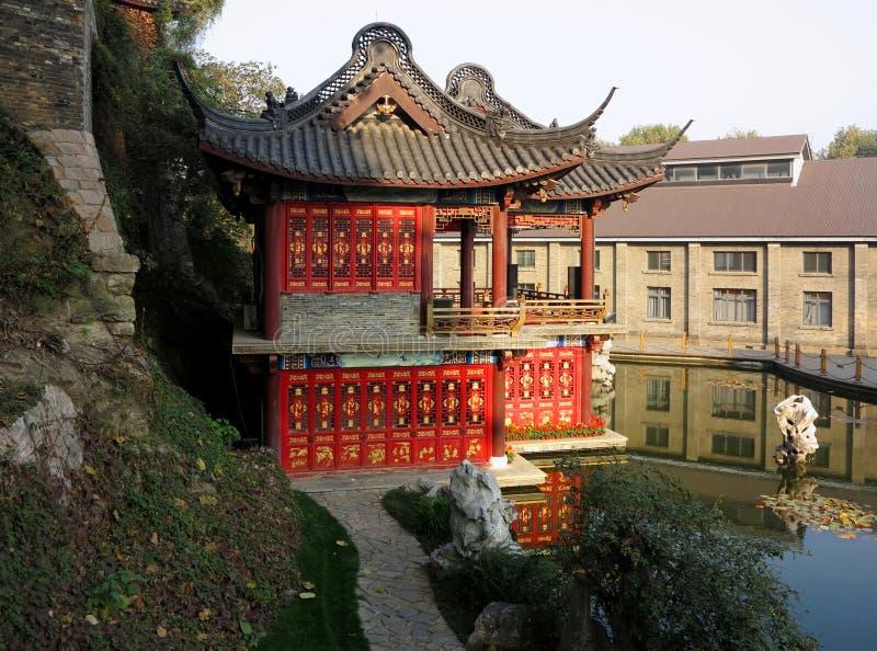 Jardín chino Shangai Yuyuan imagen de archivo