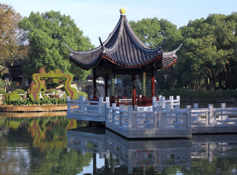 Jardín chino Shangai Yuyuan fotos de archivo