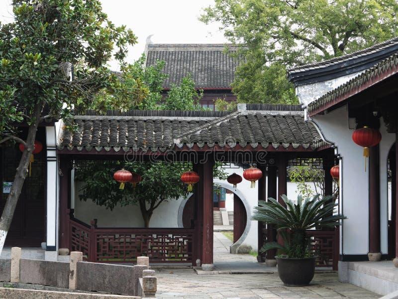 Jardín chino, Suzhou fotos de archivo