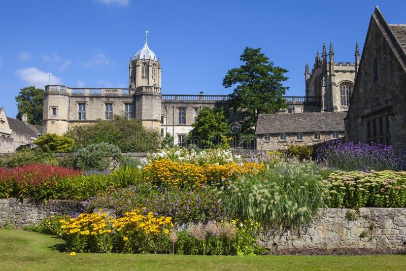 Jardín conmemorativo de la iglesia de Cristo en Oxford foto de archivo libre de regalías