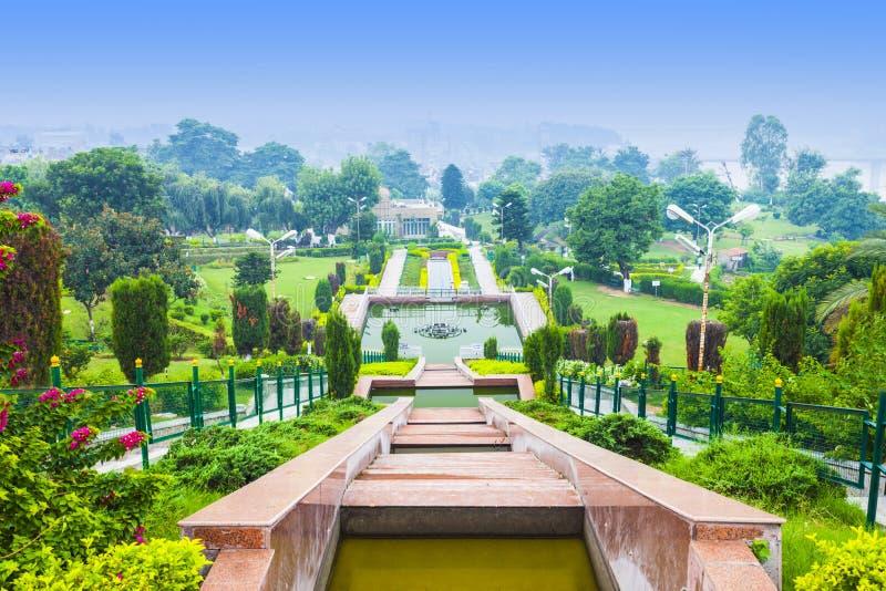 Jardín de Bagh-e-Bahu imagen de archivo libre de regalías