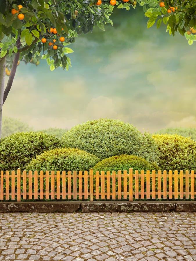 Jardín de Beautiul foto de archivo