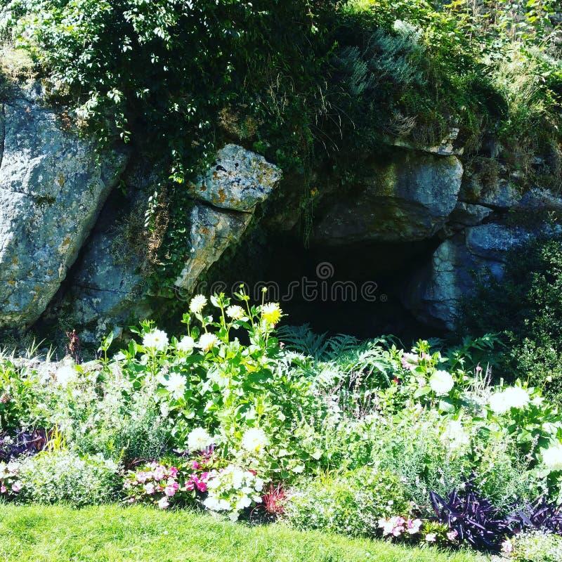 Jardín de Besançon Francia elevado imágenes de archivo libres de regalías
