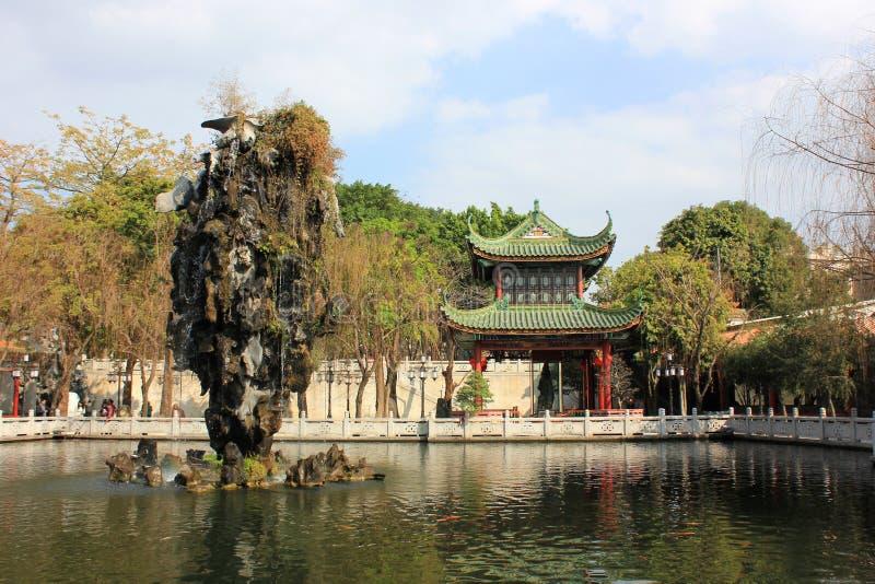 Jardín de China fotografía de archivo