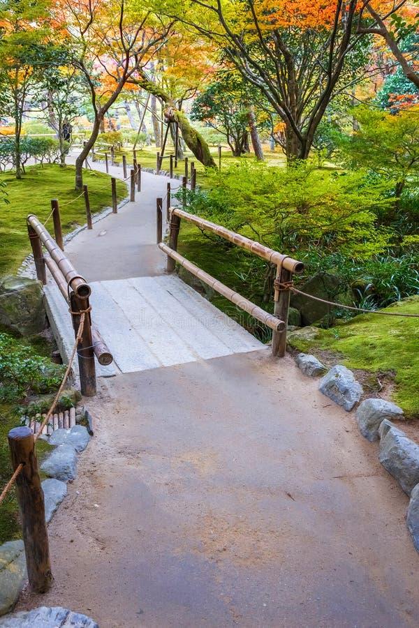 Jardín de Chisen-kaiyushiki en el templo de Ginkaku-ji, Kyoto fotos de archivo libres de regalías