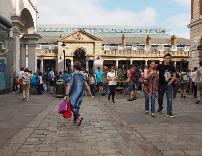 Jardín de Covent en Londres fotografía de archivo libre de regalías