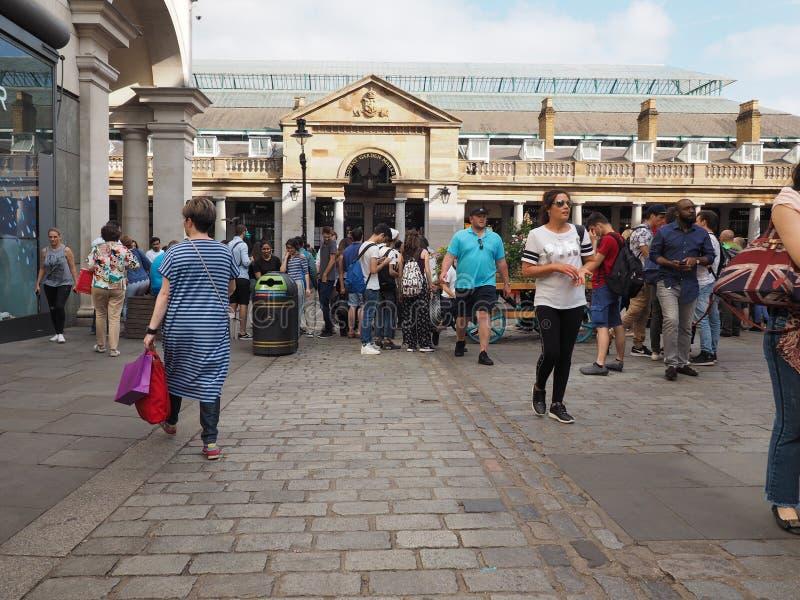 Jardín de Covent en Londres fotos de archivo libres de regalías