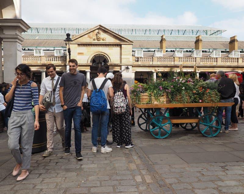 Jardín de Covent en Londres imagen de archivo