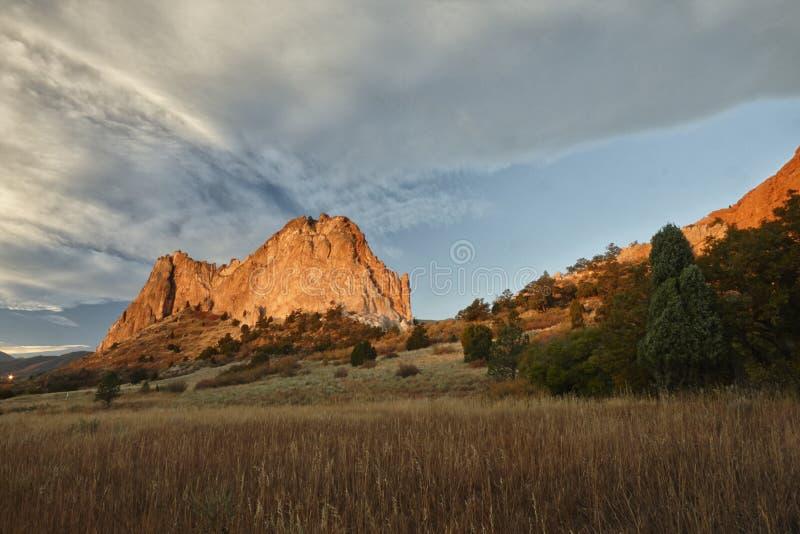 Jardín de dioses, Colorado imagenes de archivo