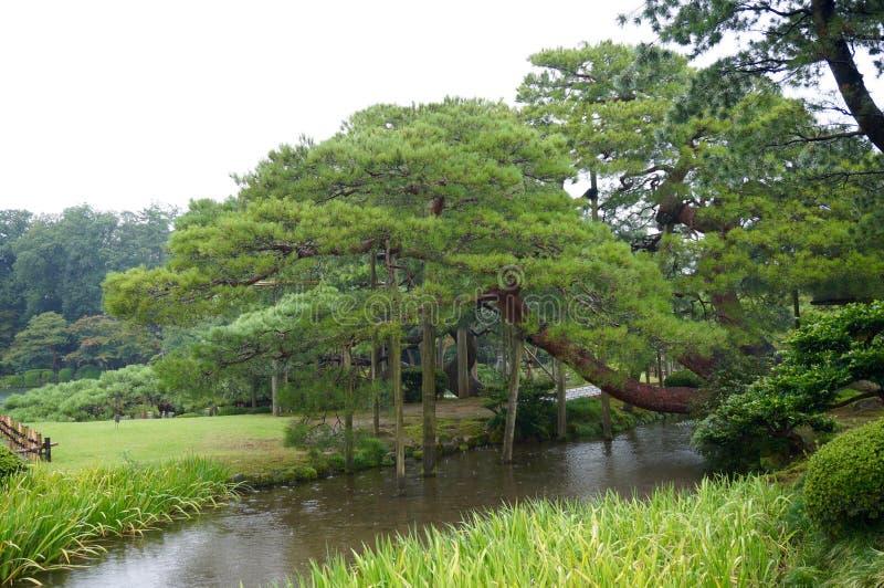 Jardín de Kanazawa foto de archivo libre de regalías