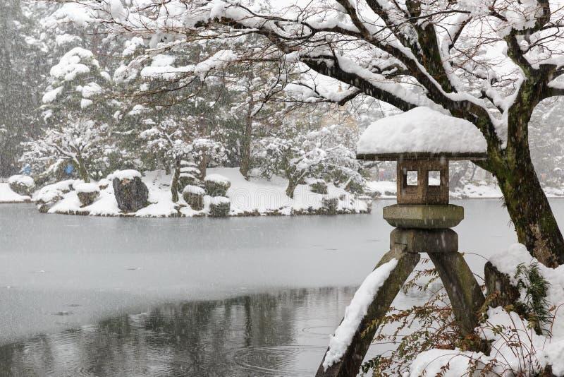 Jardín de Kenrokuen fotos de archivo