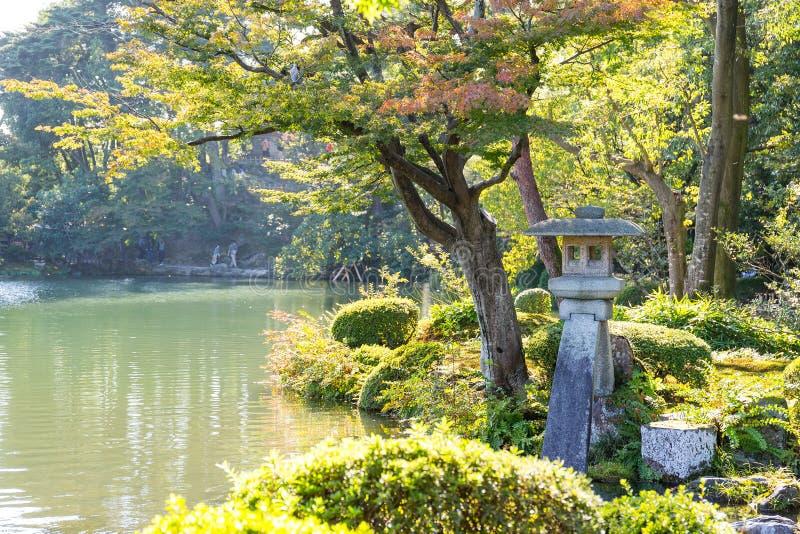 Jardín de Kenrokuen fotografía de archivo libre de regalías
