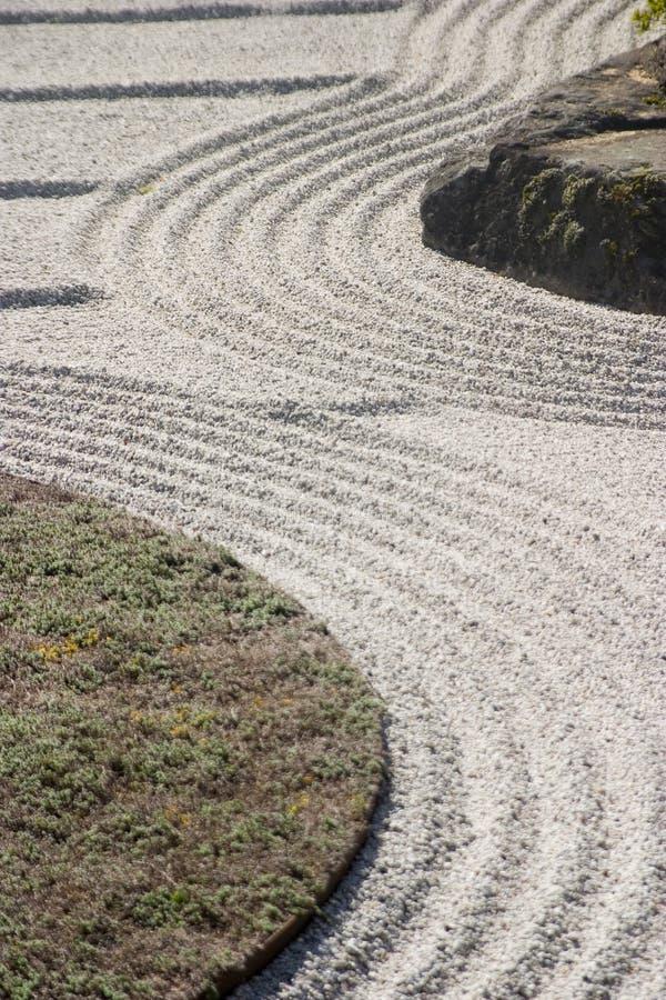 Jardín de la arena foto de archivo