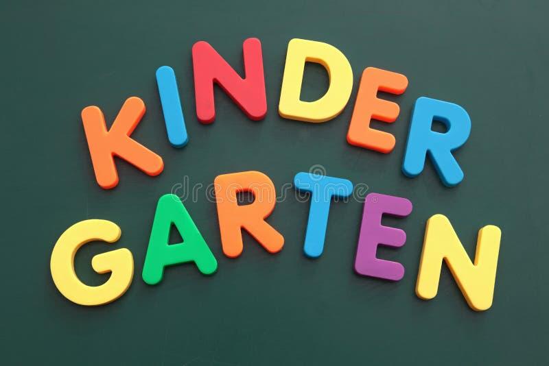 Jardín de la infancia imagen de archivo