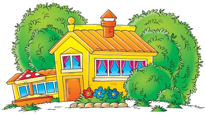 Jardín de la infancia libre illustration