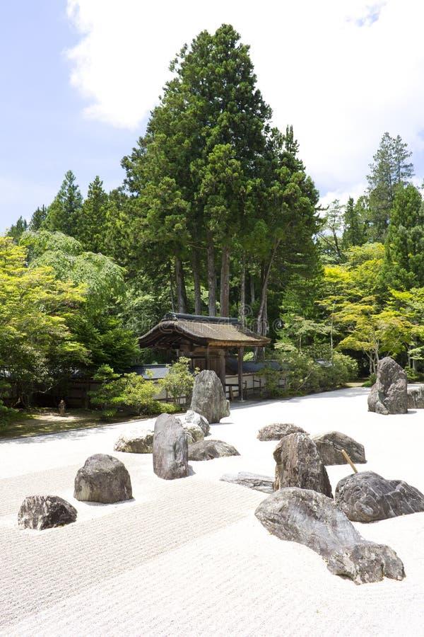 Jardín de la piedra del templo de Nanzenji foto de archivo libre de regalías