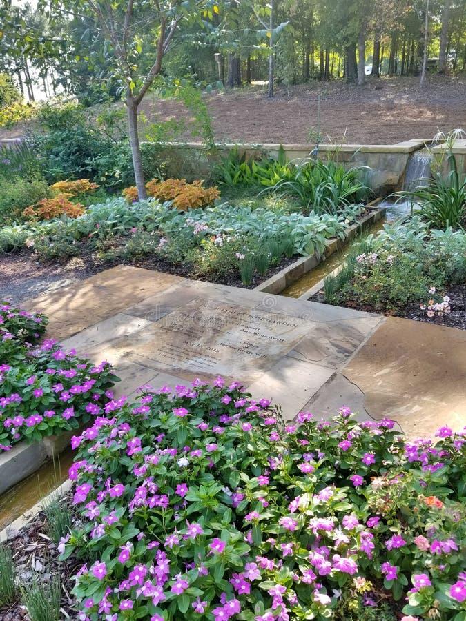 Jardín de la víspera foto de archivo libre de regalías