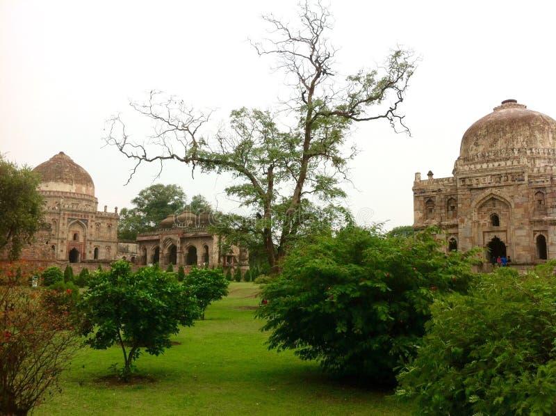 Jardín de Lodhi, Nueva Deli la India imagen de archivo libre de regalías