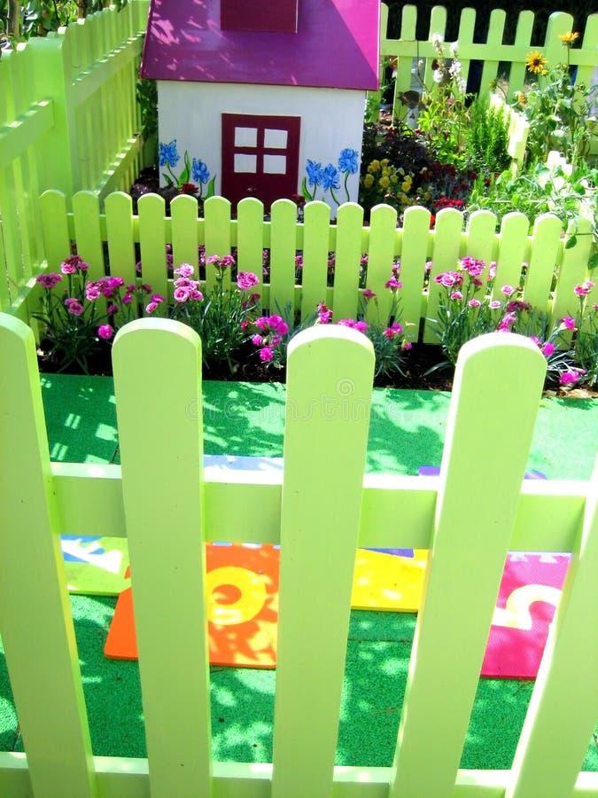 Jardín de los niños imagen de archivo libre de regalías
