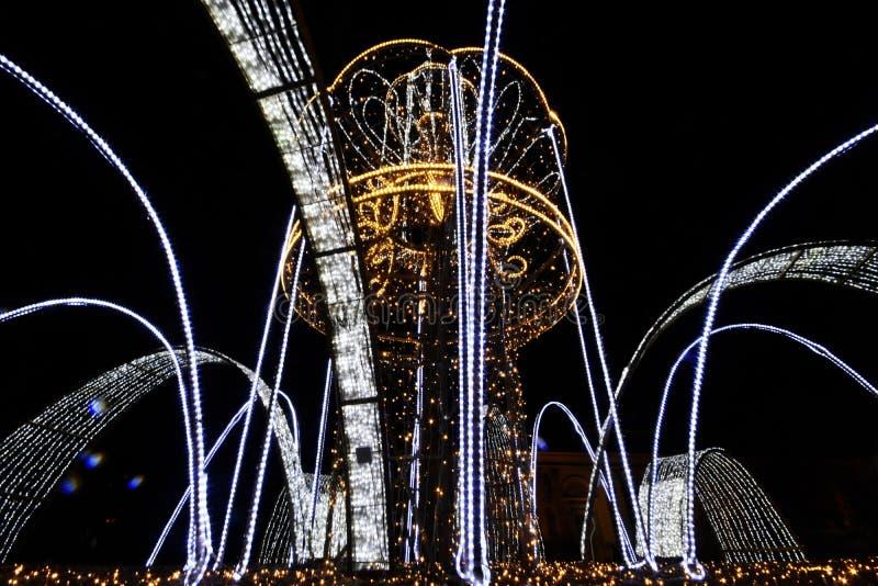 Jardín de luces foto de archivo libre de regalías