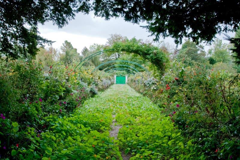 Jardín de Monet fotografía de archivo libre de regalías