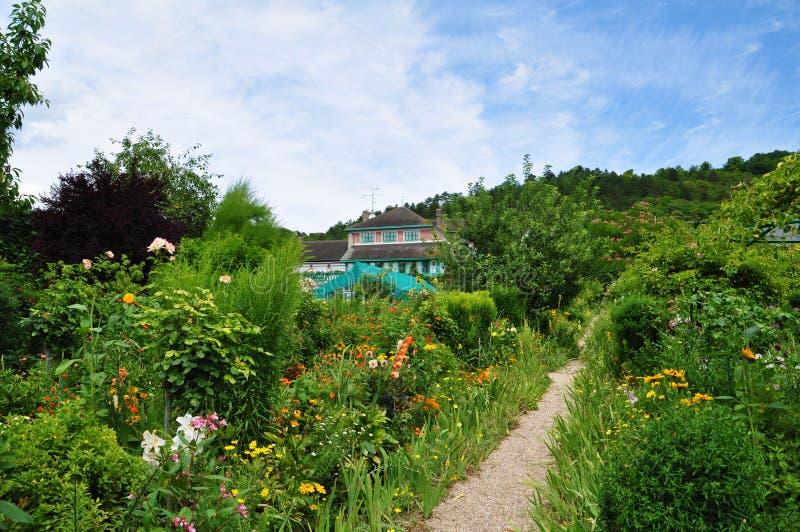 Jardín de Monet en Giverny imagen de archivo libre de regalías