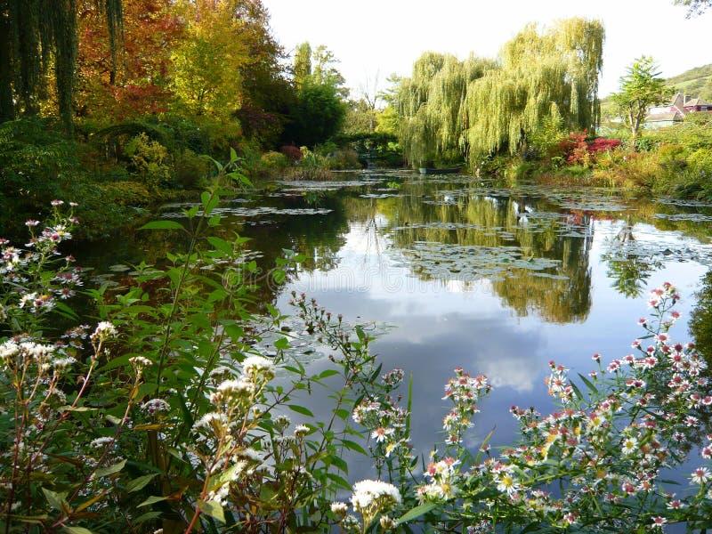 Jardín de Monet, Giverny, Francia foto de archivo