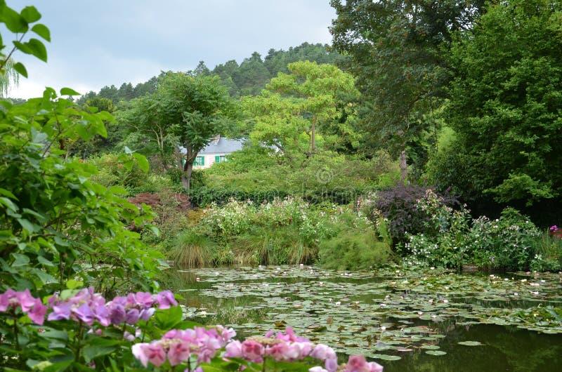 Jardín de Monet, Giverny, Francia imagenes de archivo