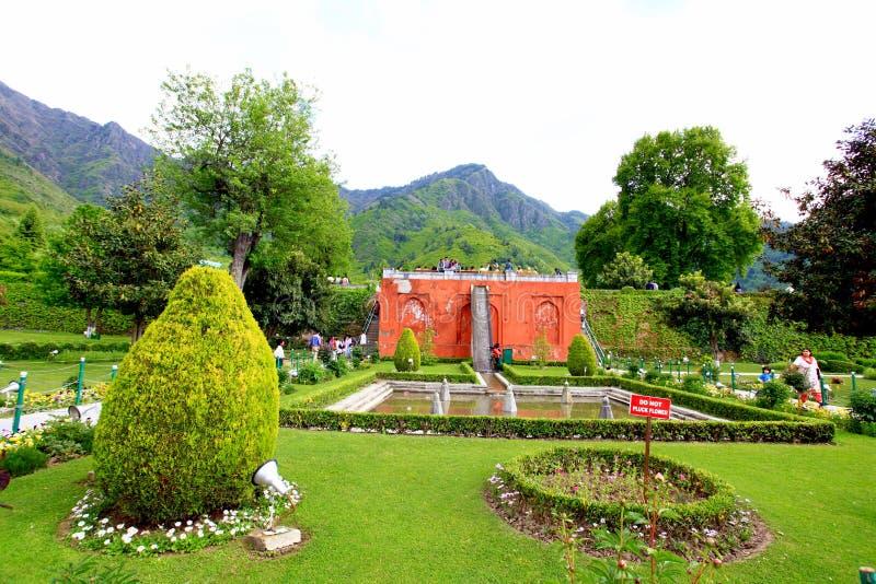Jardín de Mughal fotografía de archivo libre de regalías