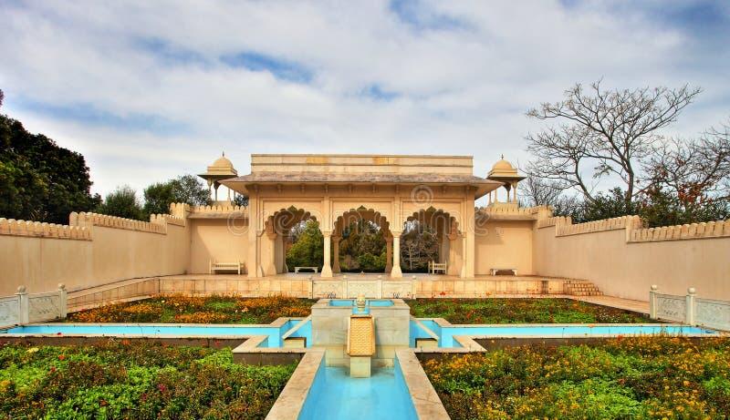 Jardín de Mughal del indio fotografía de archivo