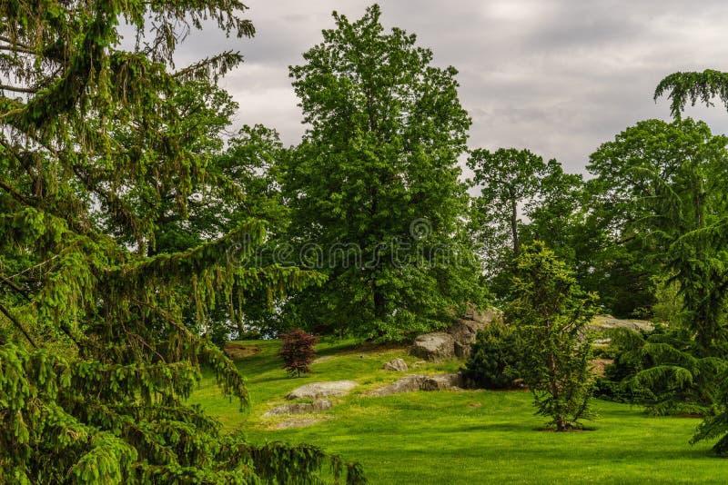 Jardín de Nueva York imagen de archivo libre de regalías