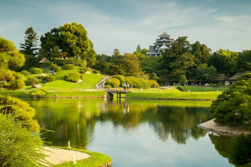 Jardín de Okayama imagen de archivo