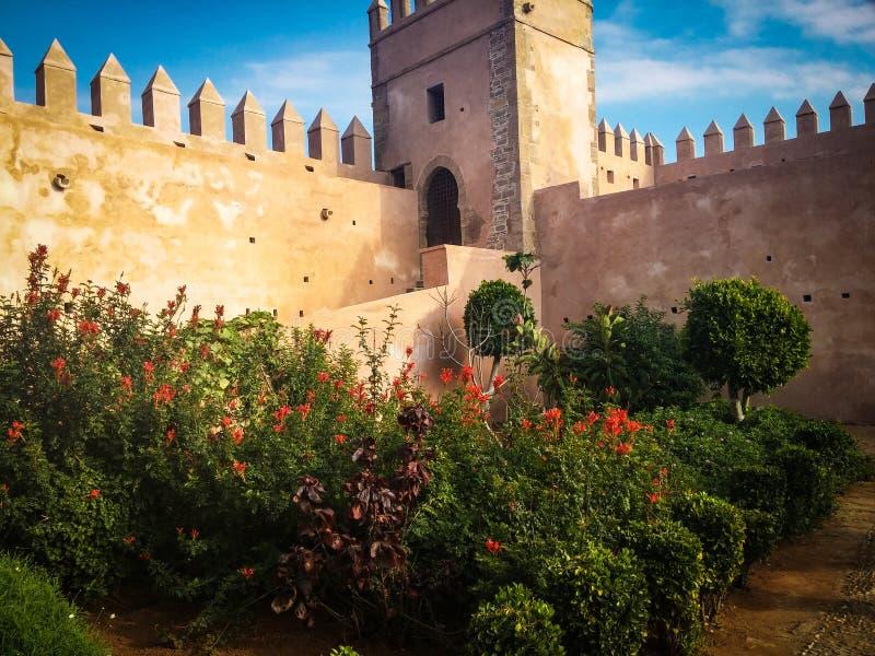 Jardín de Oudayas fotografía de archivo libre de regalías