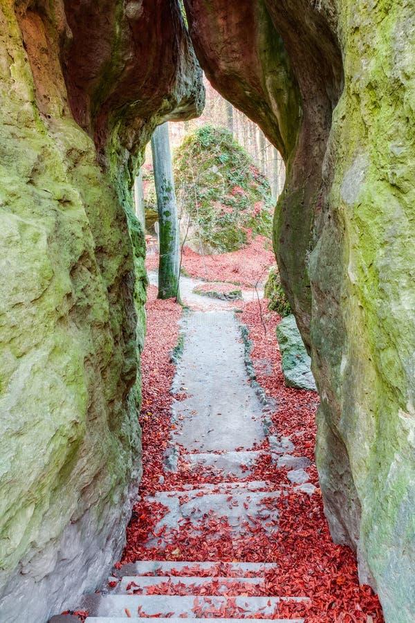 Jardín de piedras fotografía de archivo libre de regalías