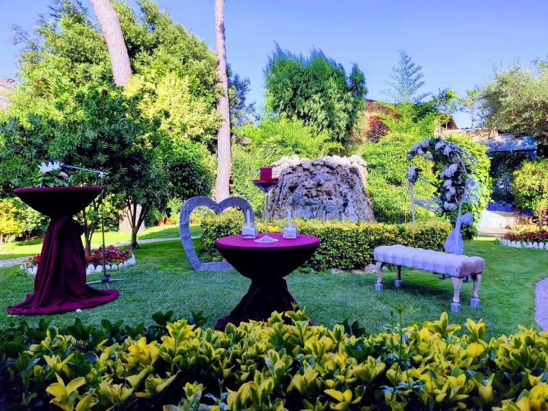 Jardín de placeres fotografía de archivo