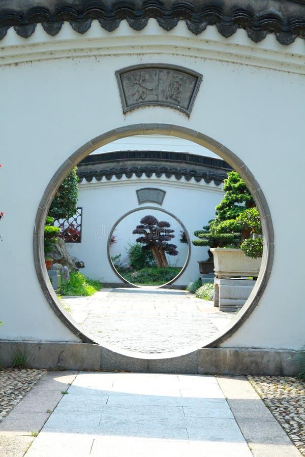 Jardín de QiYuan en China de Suzhou imágenes de archivo libres de regalías