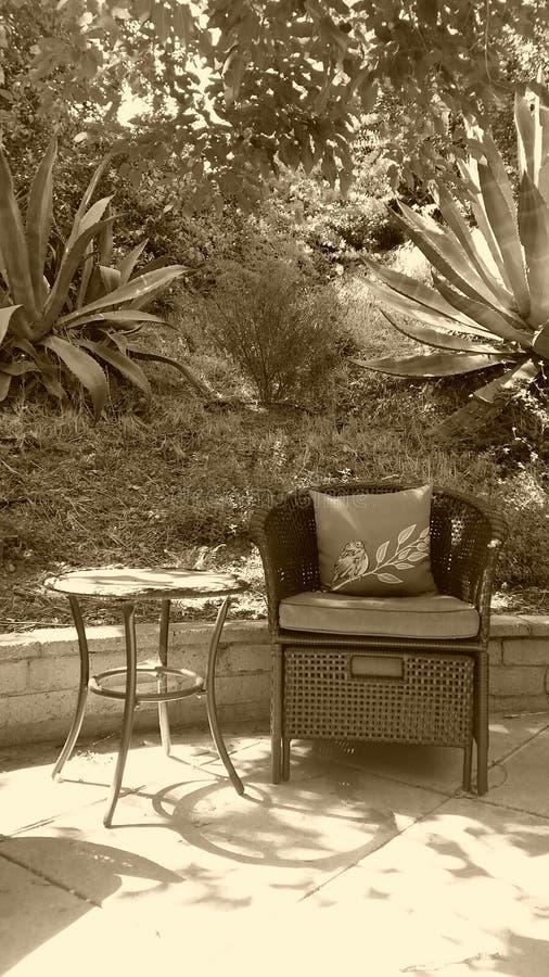 Jardín de relajación fotografía de archivo