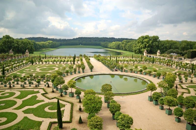 Jardín de Versalles foto de archivo