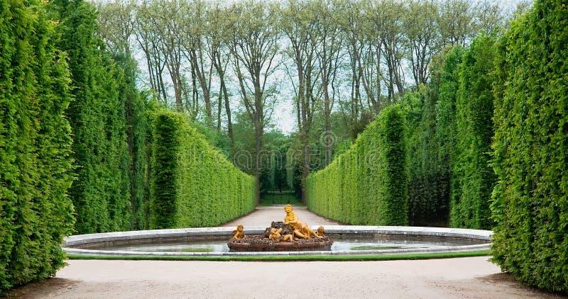 Jardín de Versalles, Francia fotos de archivo libres de regalías