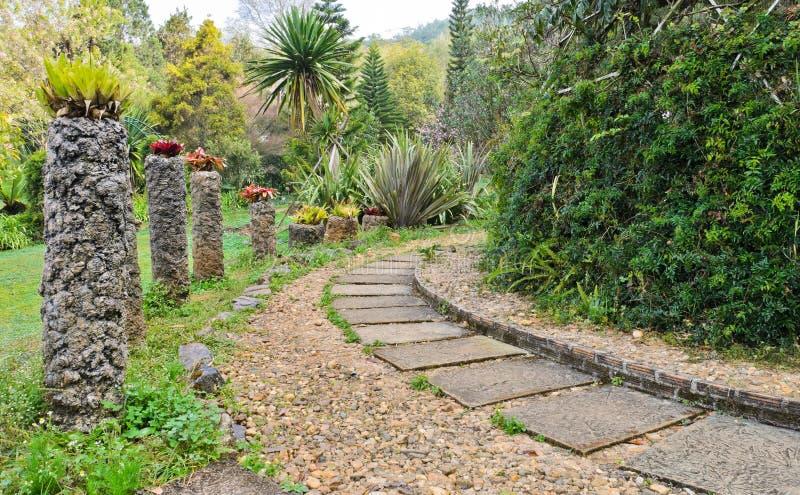 Jardín decorativo foto de archivo