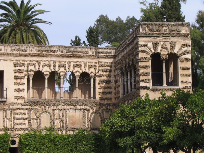 Jardín del Alcazar - Sevilla imágenes de archivo libres de regalías