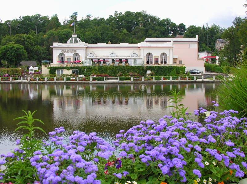 Jardín del casino fotografía de archivo