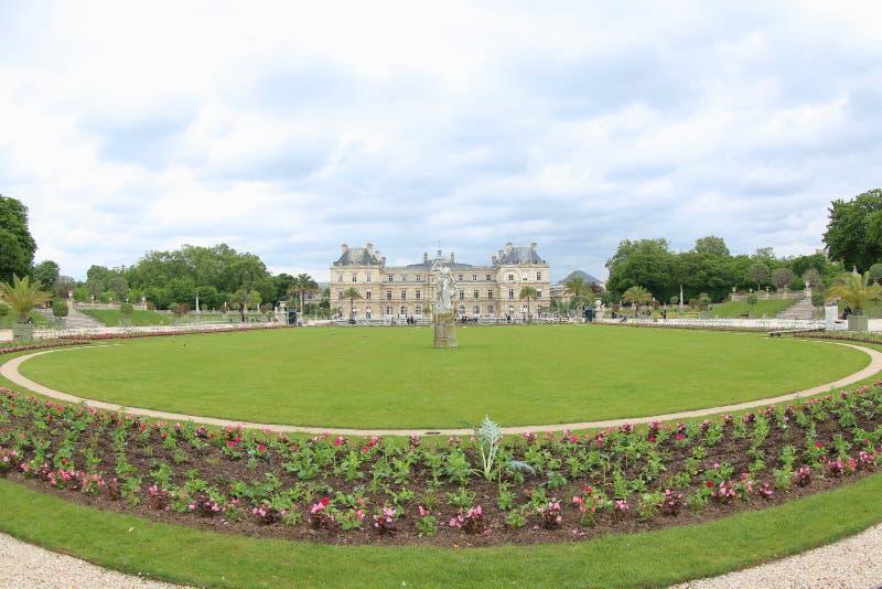 Jardín del palacio de Luxemburgo, París imagen de archivo libre de regalías