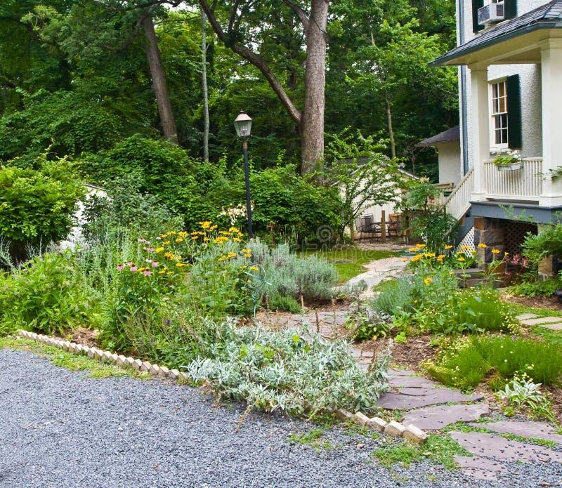 Jardín del santuario imagen de archivo