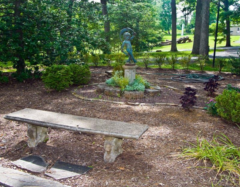 Jardín del santuario fotografía de archivo